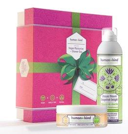 human+kind Shower & body moisturiser souffle