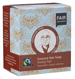 FairSquared FairSquared - Shampoo Bar - Greasy hair - Coconut 2x 80g - Zero Waste