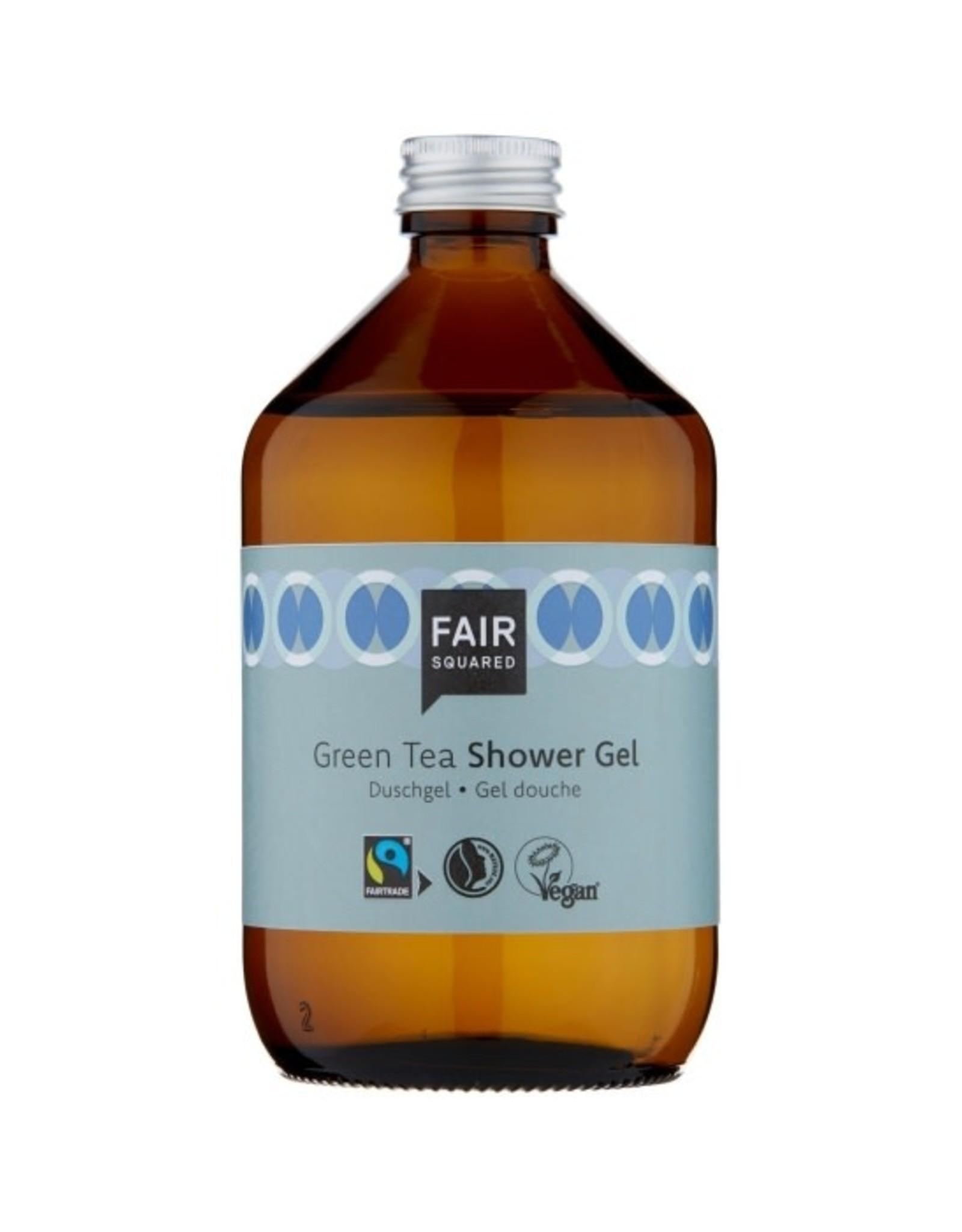 FairSquared FairSquared - Shower Gel - Green Tea - 500ml - Zero Waste