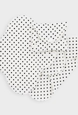 ImseVimse Panty Liners, slim pads, black dots, pack of 3