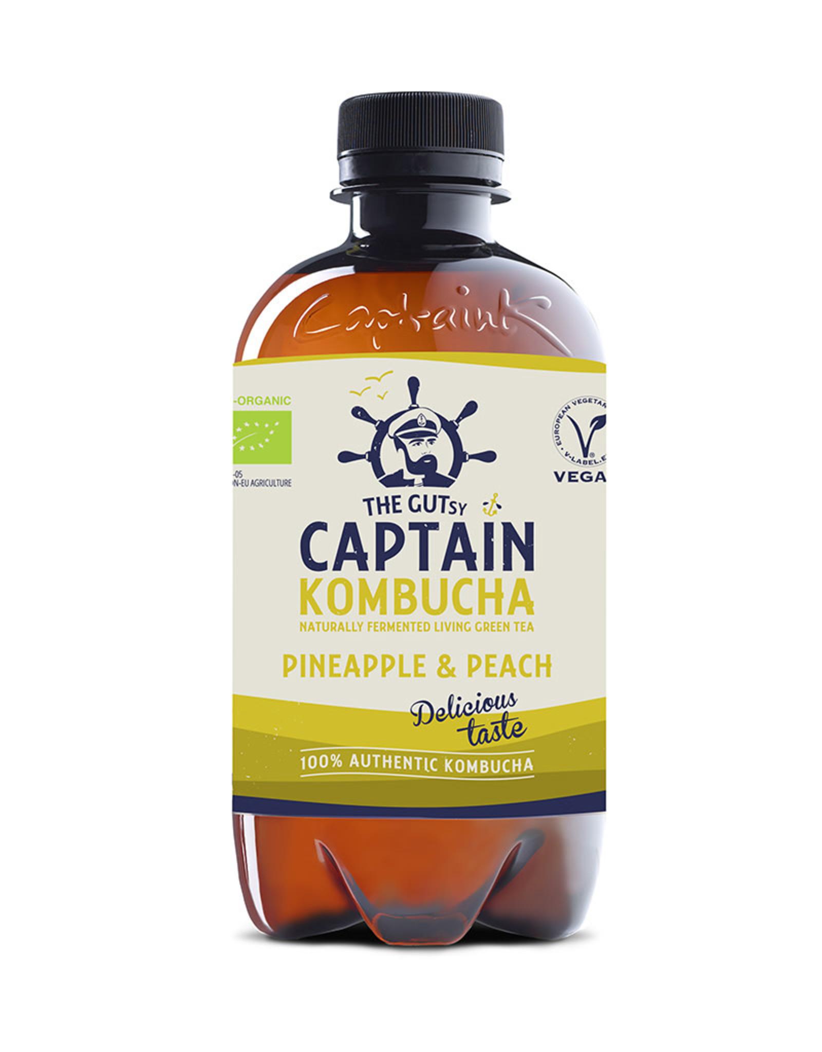 Captain Kombucha Captain Kombucha - Pineapple & Peach