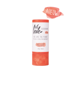 We love the planet We Love The Planet Natuurlijke deodorant Sweet & Soft (Vegan) - Stick 65g