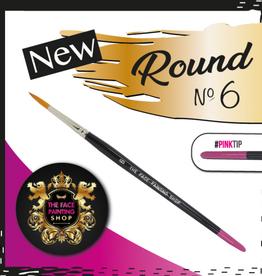Pink Tips Pink Tips Brush -  round 6