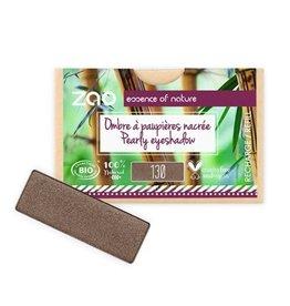 Zao ZAO Refill (rechthoekig) Parelmoer Oogschaduw 130 (Intense Brown) 1.3 gram