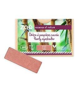 Zao ZAO Refill (rechthoekig) Parelmoer Oogschaduw 132 (Peach Pink) 1.3 gram