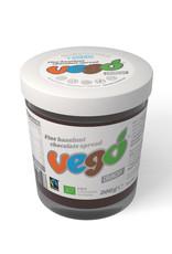 Vego Vego Hazelnut-choco spread crunchy bio 200g