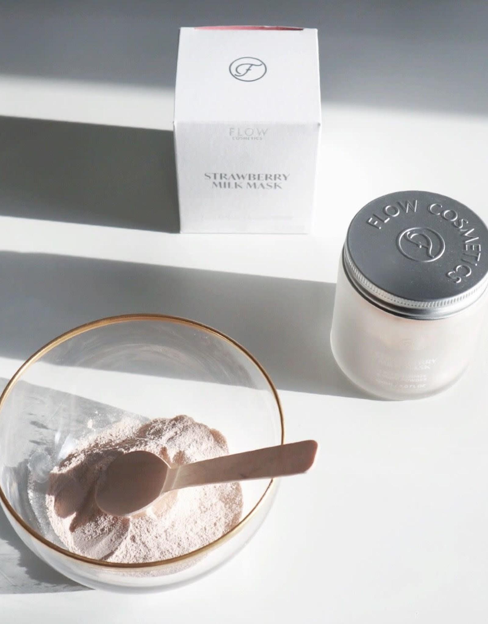 Flow Cosmetics Strawberry Milk Mask - 2 in 1 Exfoiliate & Mask 120 ml
