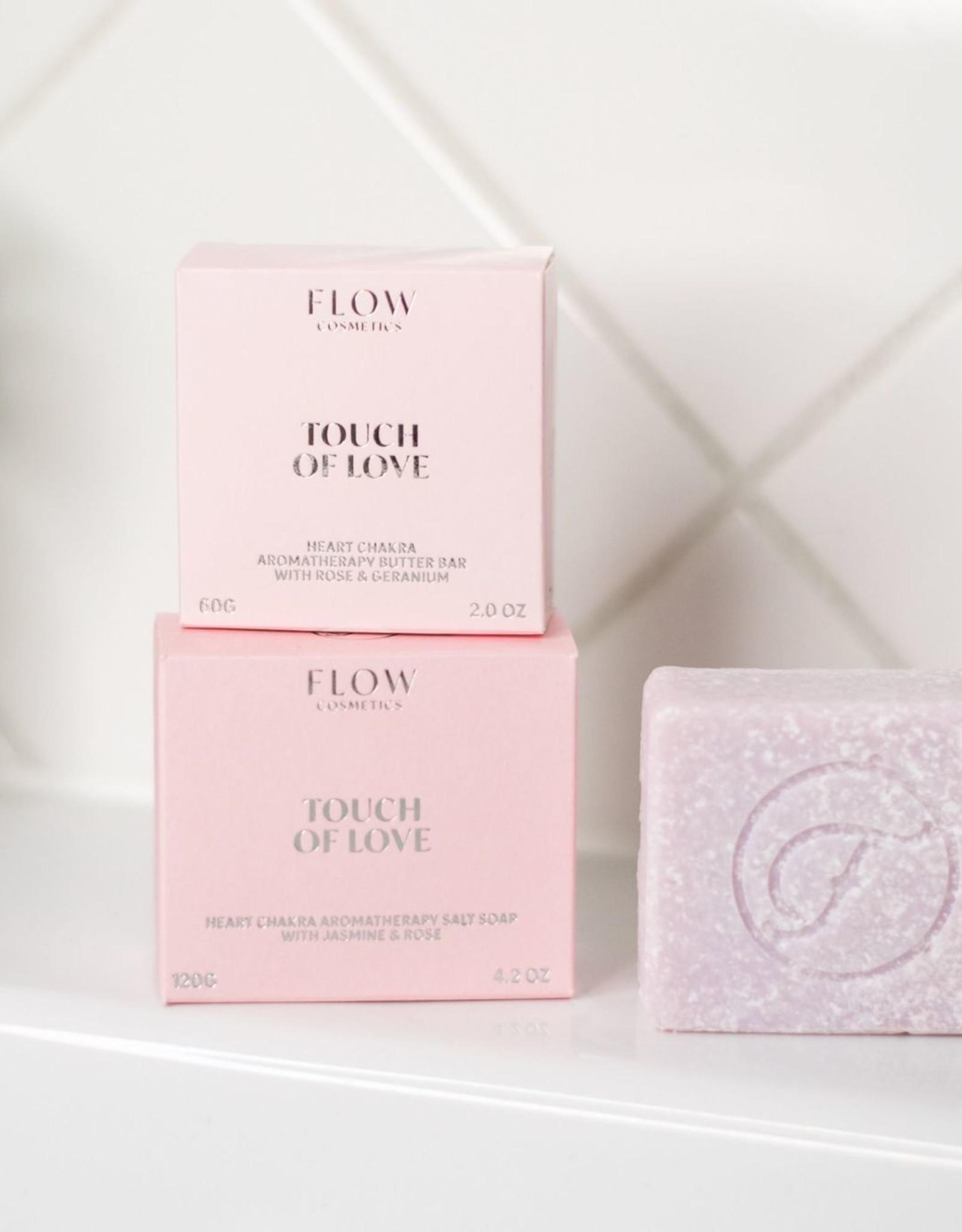 Flow Cosmetics Chakra Soap - Touch of Love - Aromatherapeutische zeep voor Gezicht, Lichaam & Haar 120 g