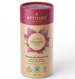 Attitude Super Leaves - Deodorant - White Tea Leaves 85g