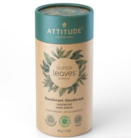 Attitude Super Leaves - Deodorant - Unscented/geurvrij 85g