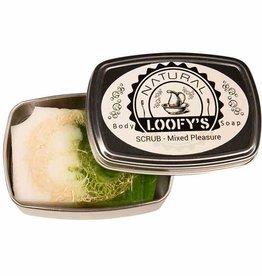 Loofys Loofys - Zeep met Loofah Scrub - Mixed Pleasure - Scrubzeep 80g
