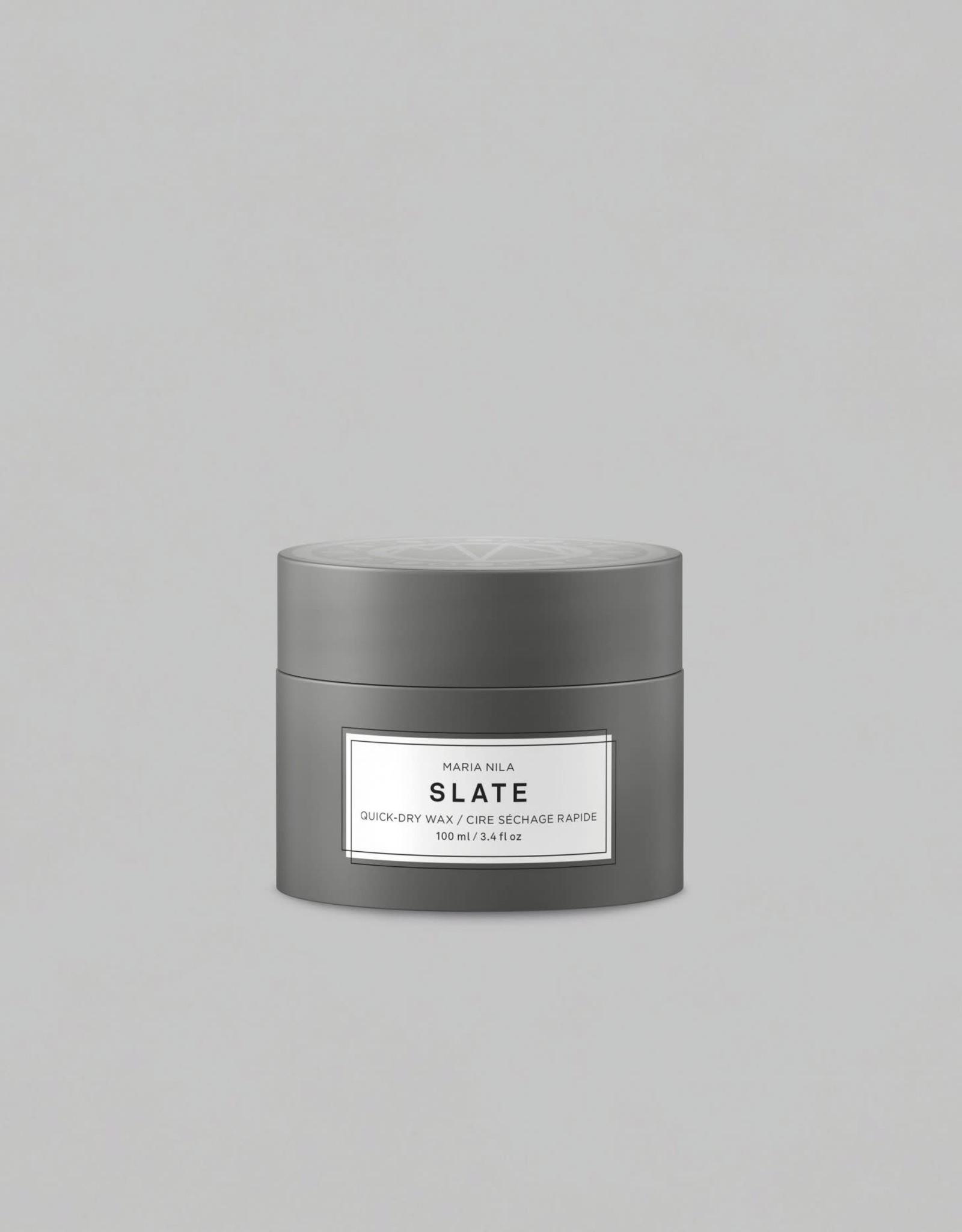 Maria Nila Slate Quick-Dry Wax 100ml