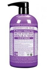 Dr. Bronner Dr. Bronner's - liquid soap shikakai - Lavender 355ml
