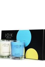 JOIK Spring scents candle trio giftset vegan 3 x 80g
