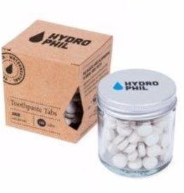 Hydrophil Hydrophil Tandenpoets tabletten salie met fluoride 130tabletten