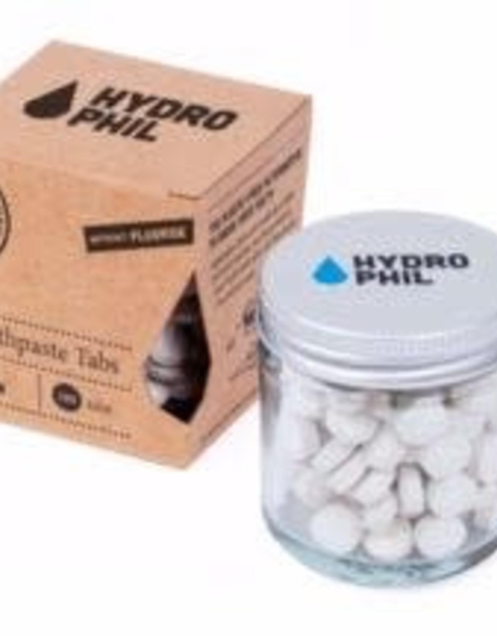 Hydrophil Hydrophil Tandenpoets tabletten munt-citroen zonder fluoride 130tabletten