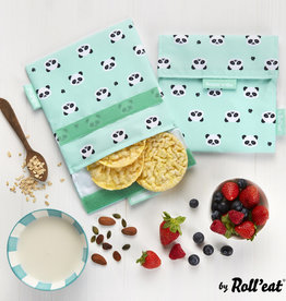 Roll'eat Boc'n'Roll Animals - Snack'n'Go - Snack Bag Panda