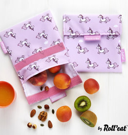 Roll'eat Boc'n'Roll Animals - Snack'n'Go - Snack Bag Unicorn