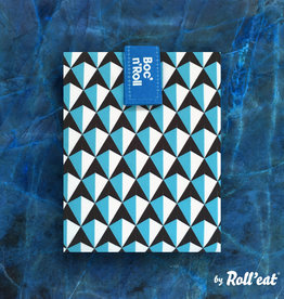 Roll'eat Boc'n'Roll Tiles - Sandwich Wrap Blue