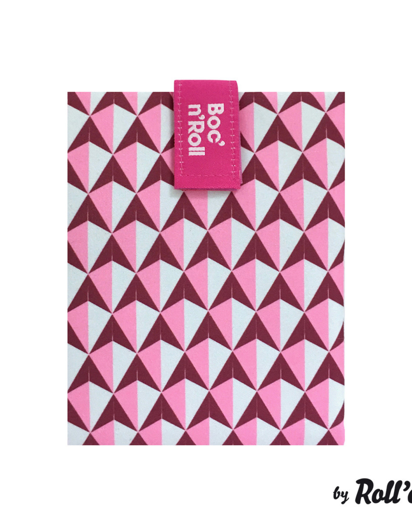Roll'eat Boc'n'Roll Tiles - Sandwich Wrap Pink