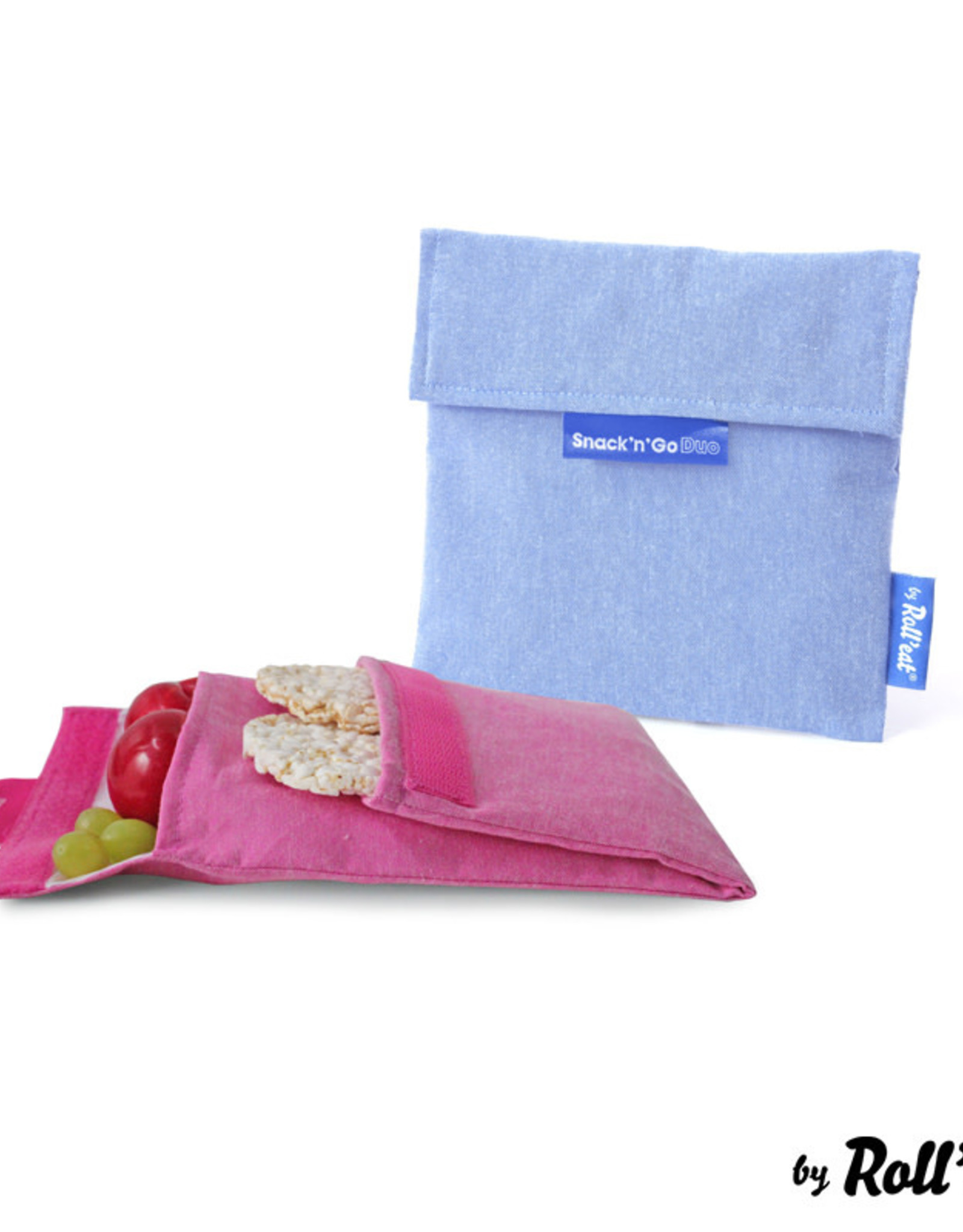 Roll'eat Boc'n'Roll Nature - Snack'n'Go Duo Blue