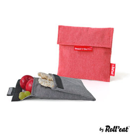 Roll'eat Boc'n'Roll Nature - Snack'n'Go Duo Red