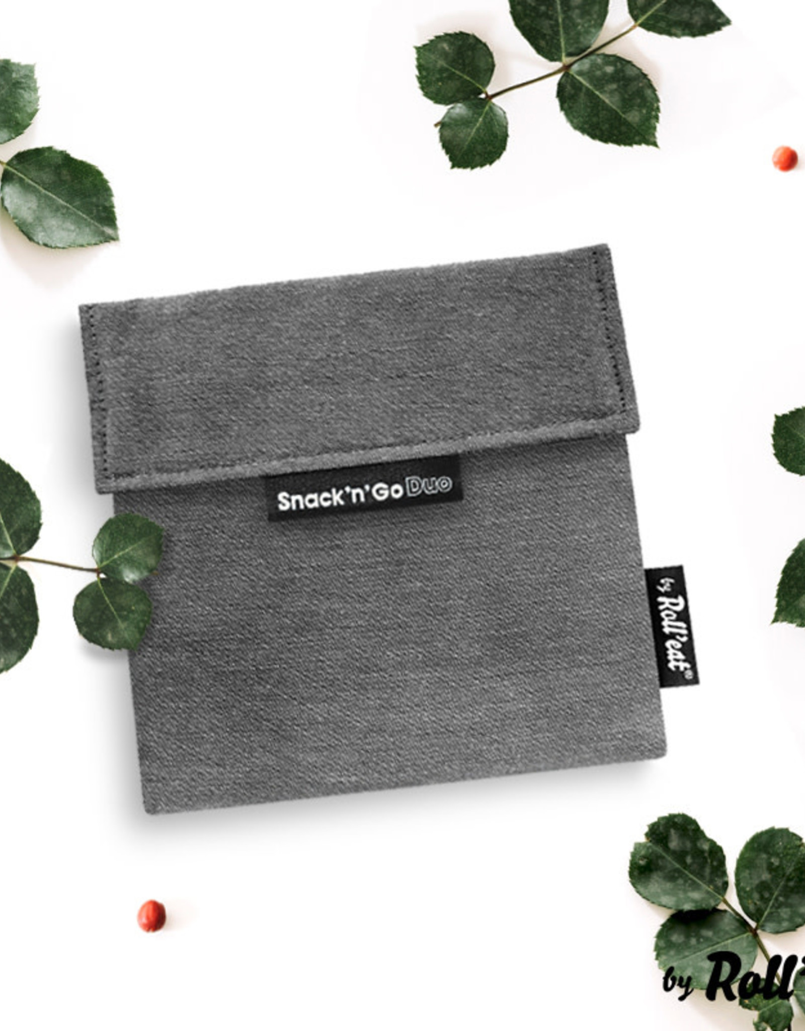 Roll'eat Boc'n'Roll Nature - Snack'n'Go Duo Black
