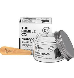 The Humble Co. Tandpasta Zero Waste - Charcoal met fluor - Houtskool 50ml