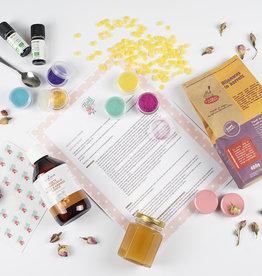 Roos met Witte Stippen DIY pakket Lippenbalsem