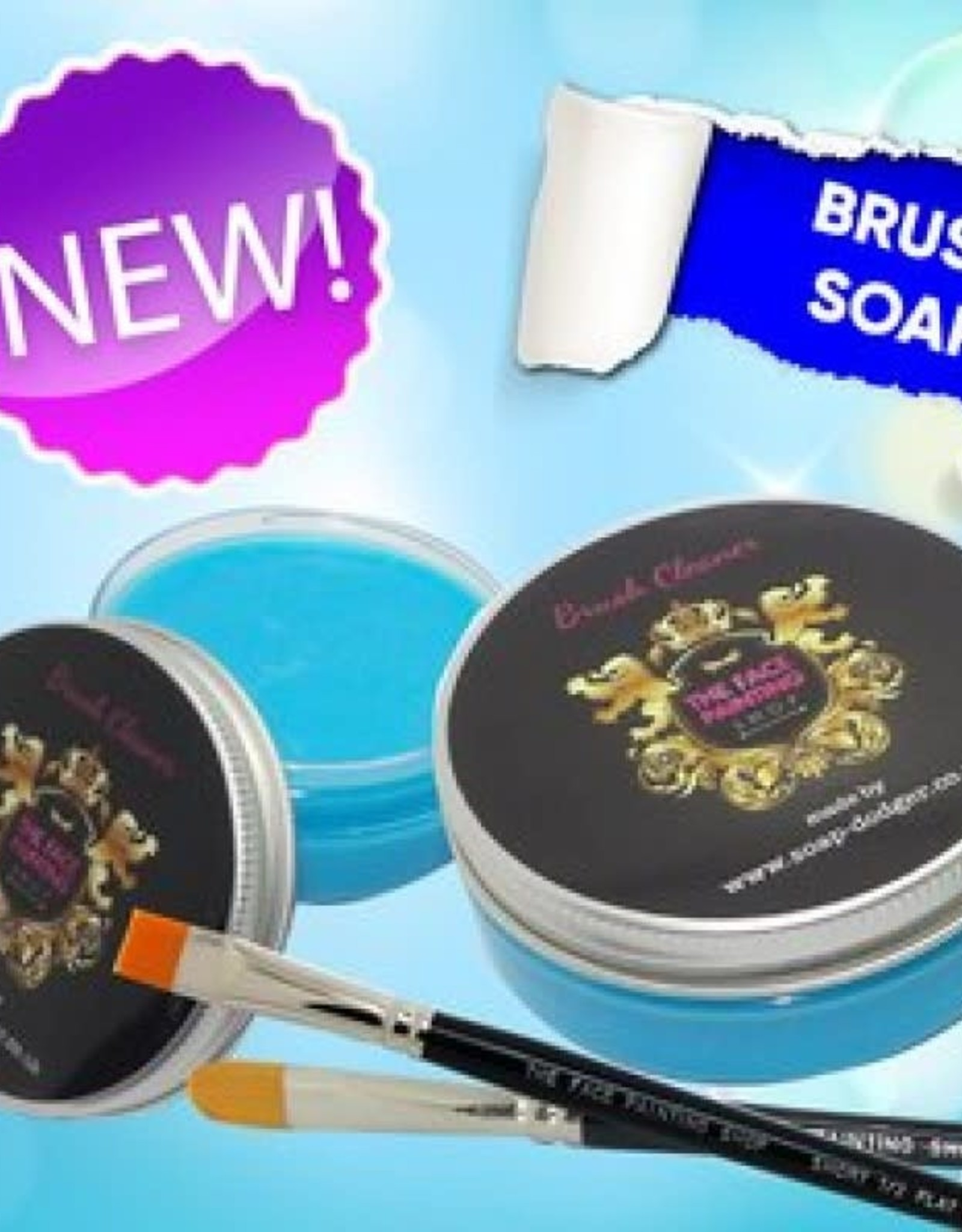 Silly Brush Brush Cleaner - sea breeze 50g