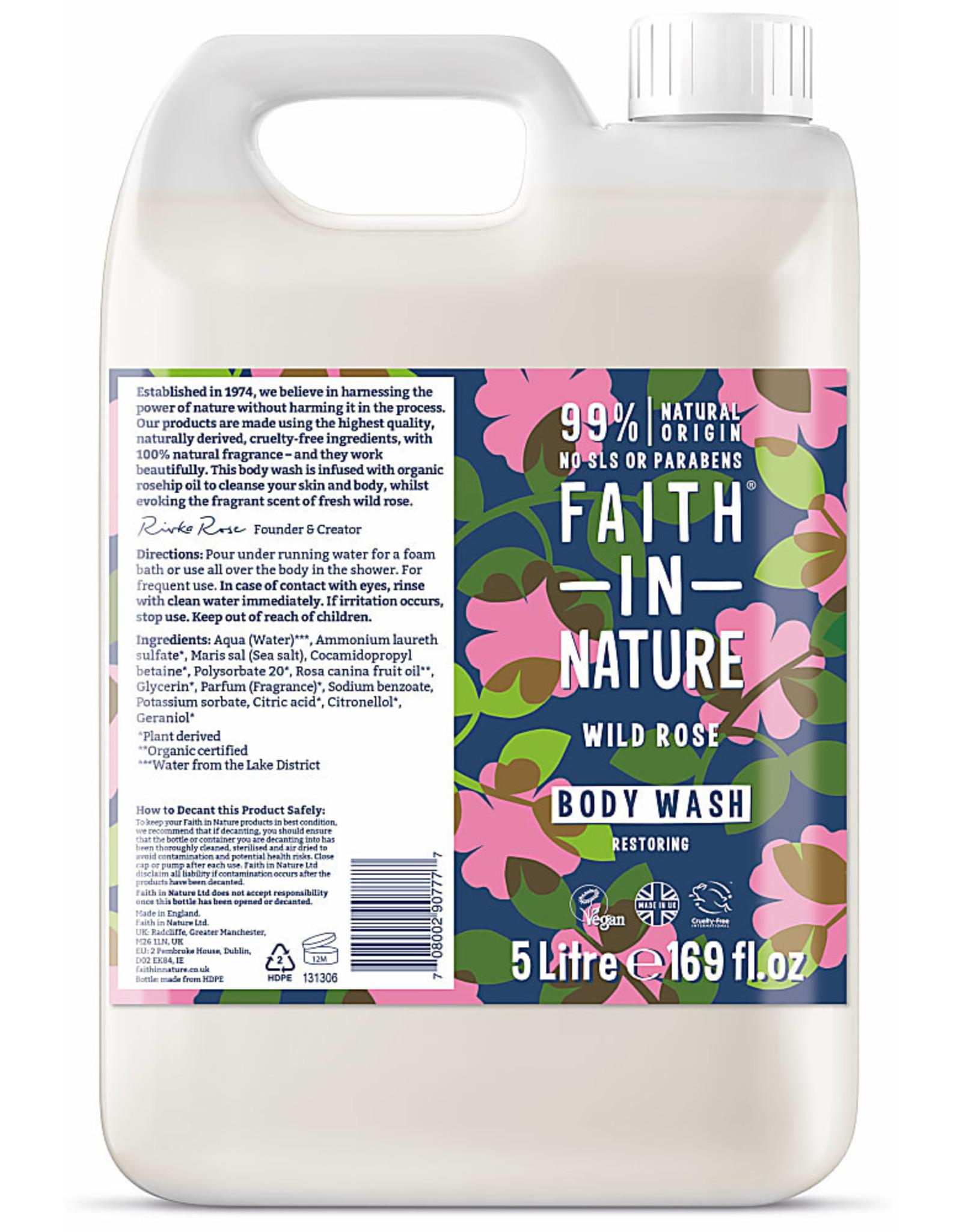 Faith in Nature Faith in Nature Wild Rose Bad - en Douchegel 400ml