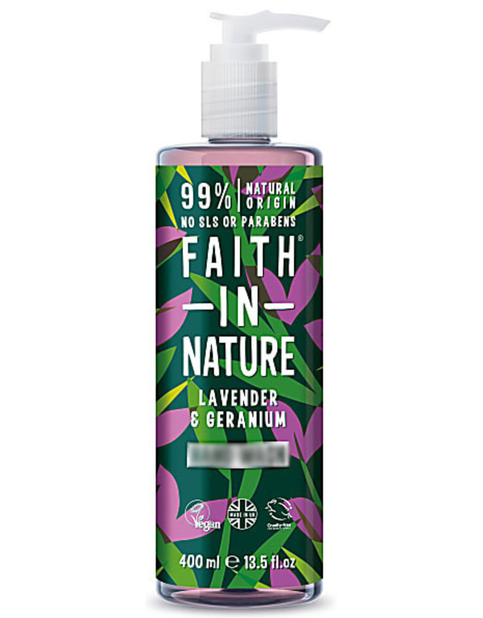 Faith in Nature Faith in Nature Lavender & Geranium Bad - en Douchegel 400ml