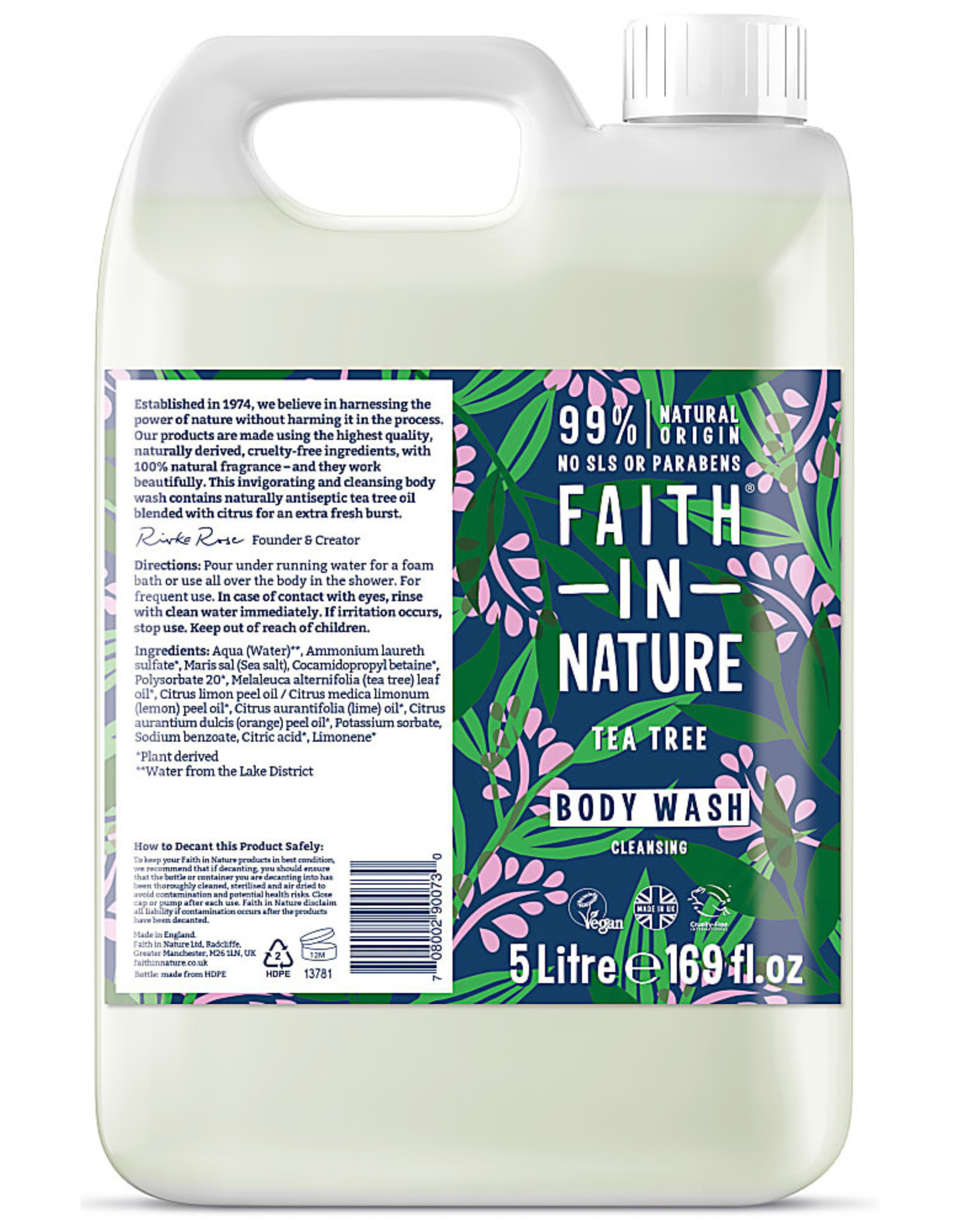 Faith in Nature Faith in Nature Tea Tree Bath & Shower Gel 400ml