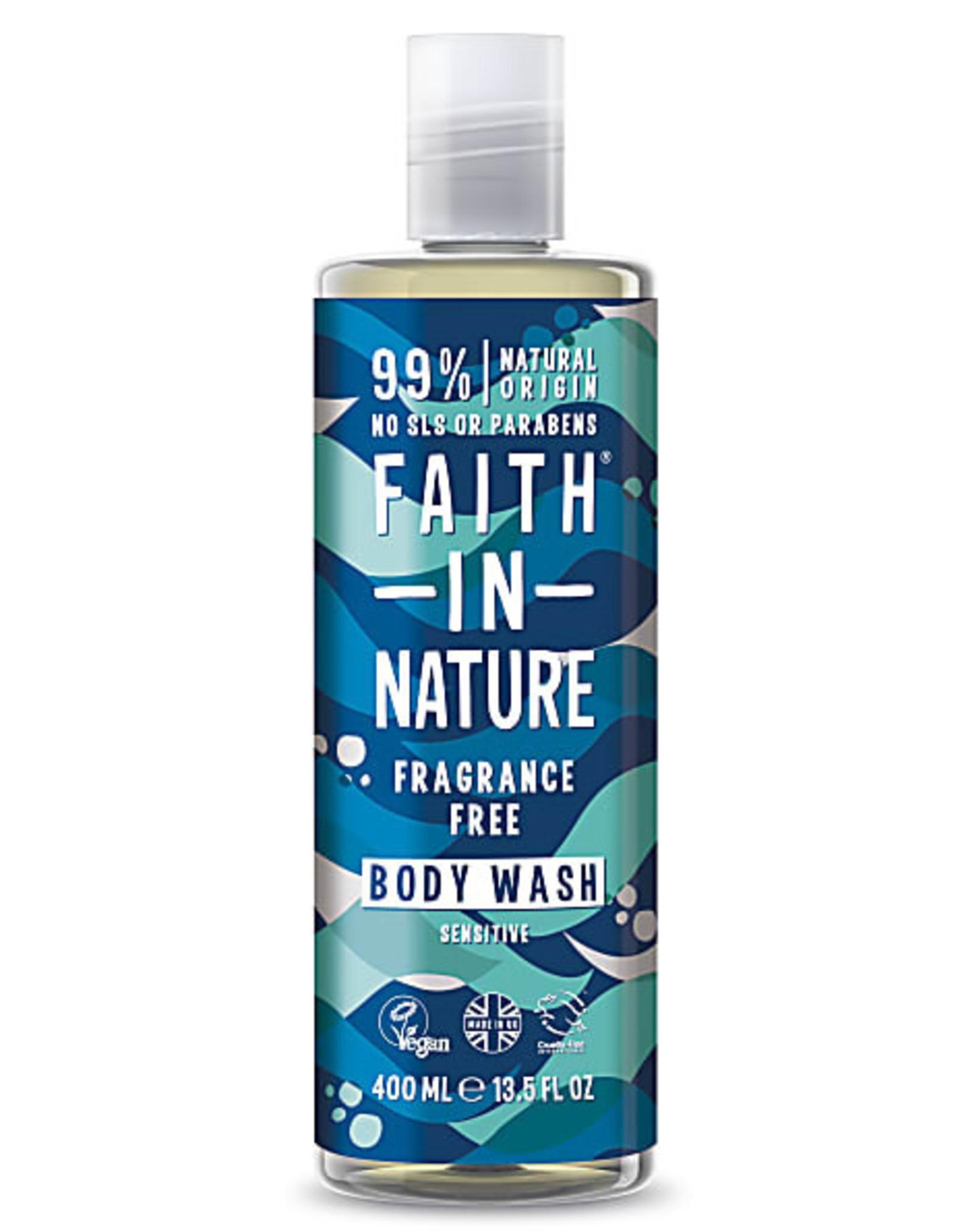 Faith in Nature Faith in Nature Fragrance Free Bath & Shower Gel 400ml