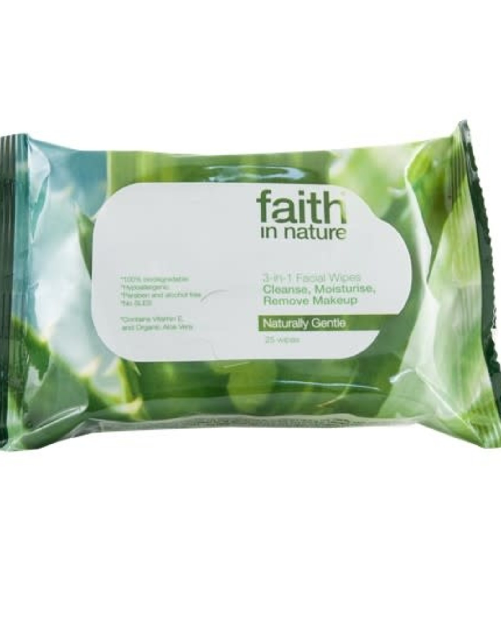 Faith in Nature Faith in Nature 3 in 1 Facial Wipes