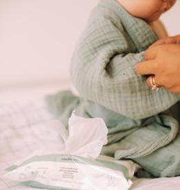 Naïf Baby wipes plastic free/Natuurlijke plasticvrije billendoekjes 54 stuks