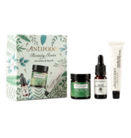 Antipodes Beauty Icons - Kiwi Seed Eye Cream/ Apostle mini/ Vanilla Pod mini
