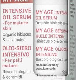 Lavera My age intensive oil serum - voor de rijpere huid