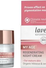 Lavera My age nachtcrème voor de rijpere huid