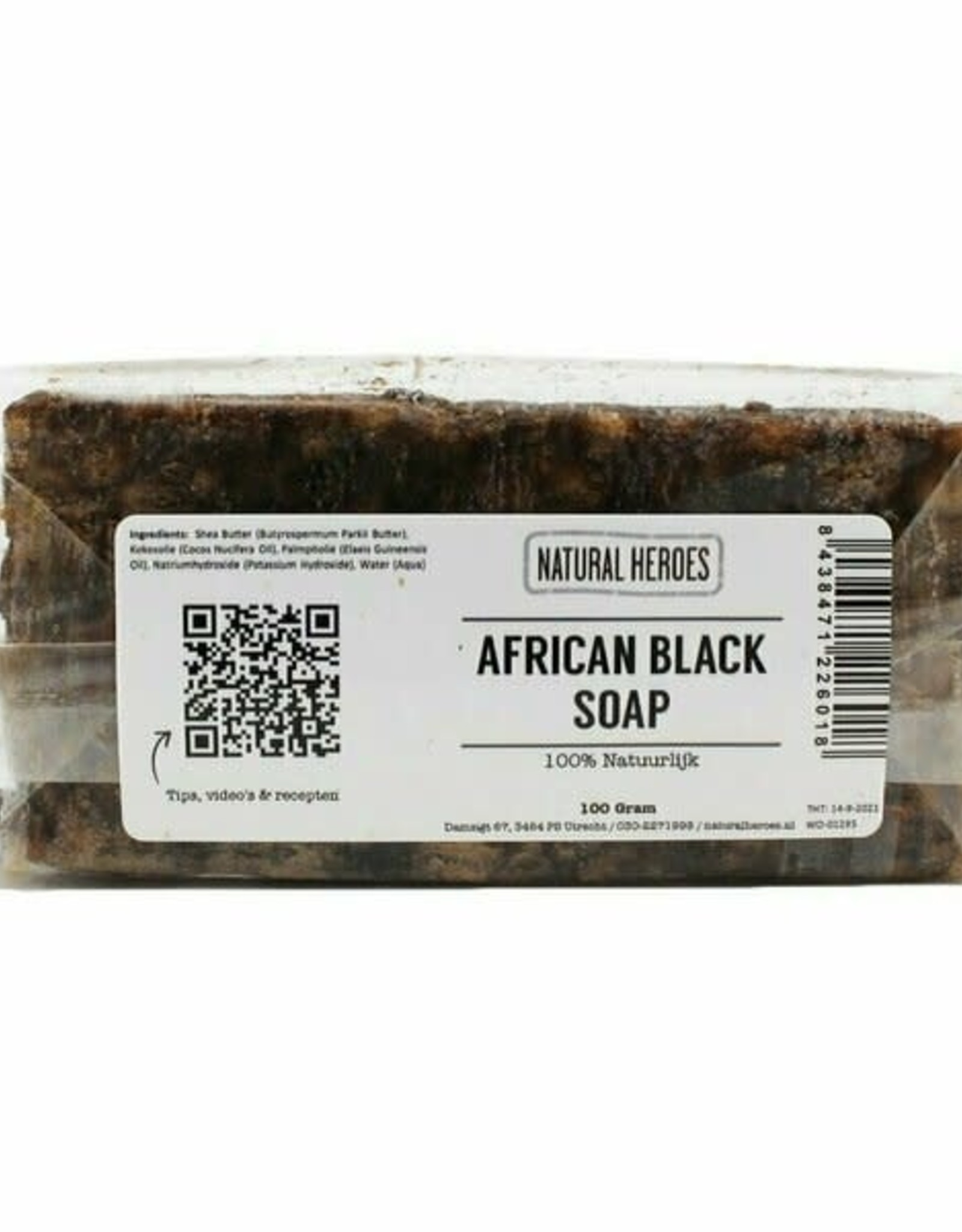 Natural Heroes African Black Soap 100g