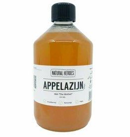 Natural Heroes Appelazijn/Apple Cider Vinegar 500ml