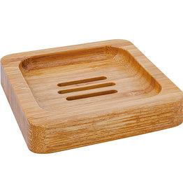Croll & Denecke Bamboe zeepbakje - Vierkant