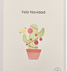 Atelier Amelie kaartje Feliz Navidad
