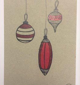 Atelier Amelie kaartje kerstballen