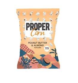 ProperCorn Popcorn peanut butter & almond 90g
