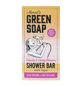 Marcel's Green Soap Shower bar vanilla & cherry 150 gram