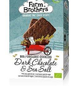 Farm Brothers Chocolade met zeezout koekjes 150g