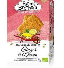 Farm Brothers Gember & citroen koekjes 150g