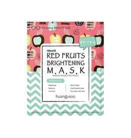 Huangjisoo Huangjisoo Red Fruit Brightening Face Mask 1 stuk