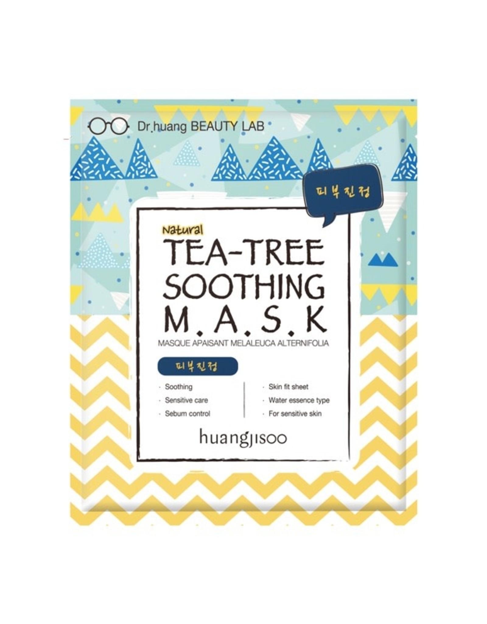 Huangjisoo Huangjisoo Tea Tree Soothing Face Mask 1 stuk